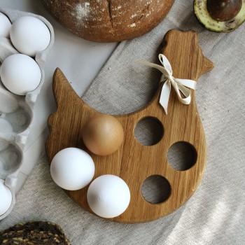 "Подставка под яйца ""Курочка"""
