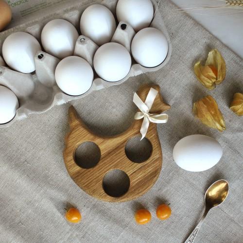"""Подставка под яйца """"Курочка"""", малая"""
