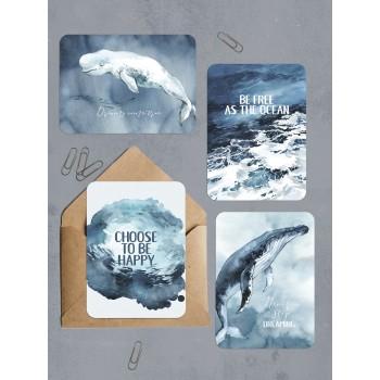 "Набор открыток ""OCEAN"""